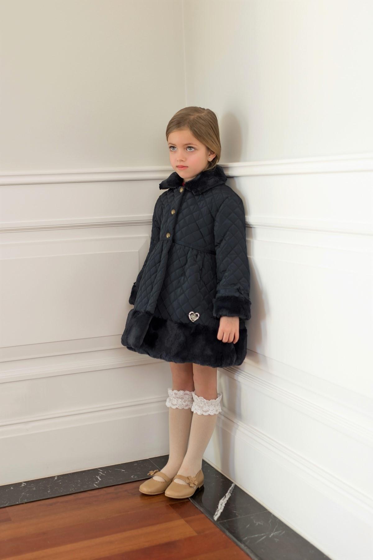 Abrigo niña Dolce Petit ref. 26/2212