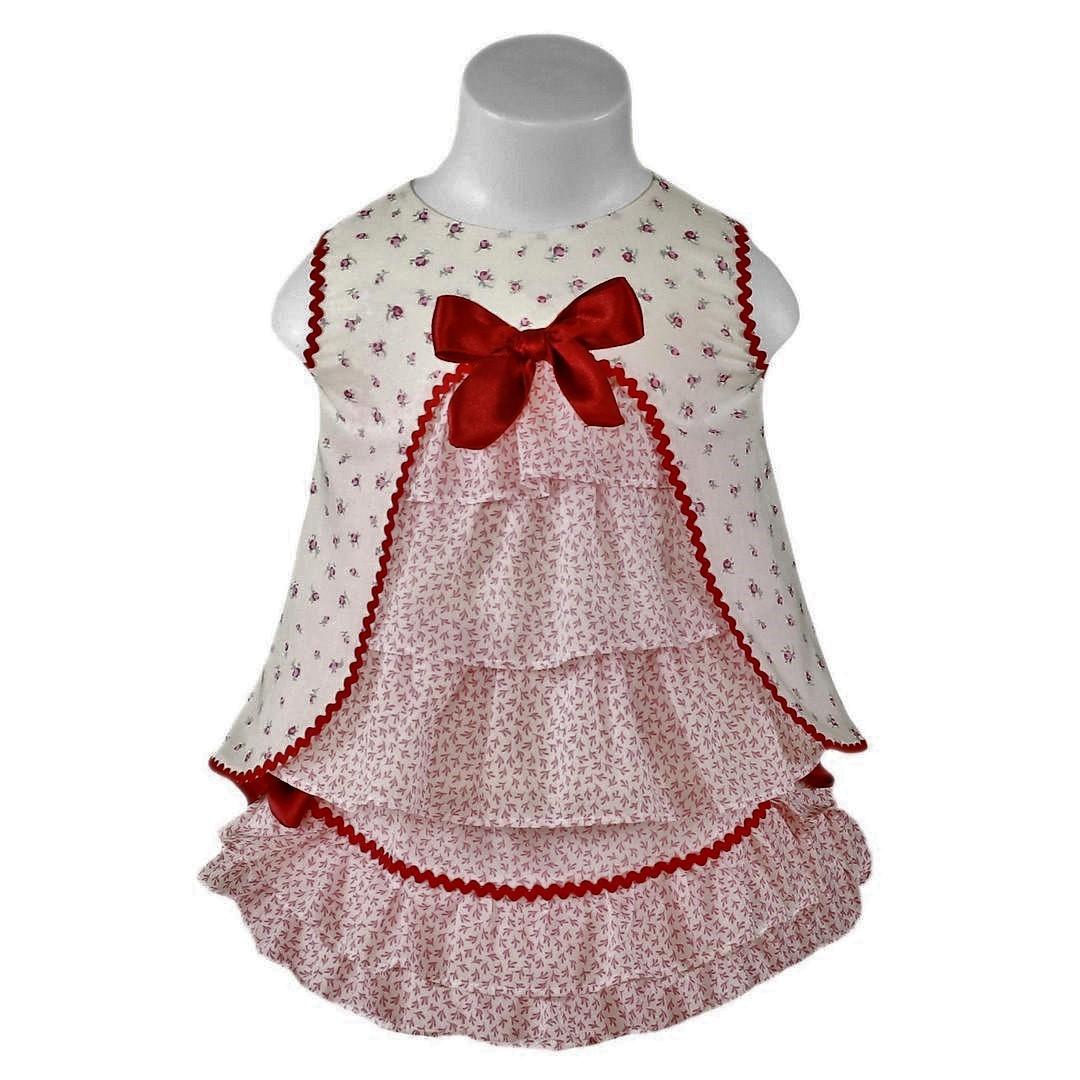 Conjunto Bebé vestidito y braguita Miranda